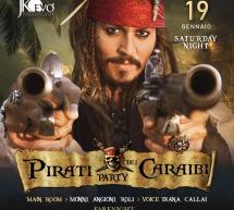PIRATI DEI CARAIBI PARTY – JKO EVO' – CAGLIARI – SABATO 19 GENNAIO 2019