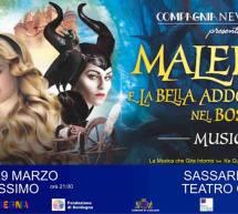 MALEFICA e LA BELLA ADDORMENTATA NEL BOSCO – CAGLIARI,28-29 MARZO; SASSARI, 30 MARZO 2019