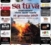 SA TUVA – MACOMER – MERCOLEDI 16 GENNAIO 2019