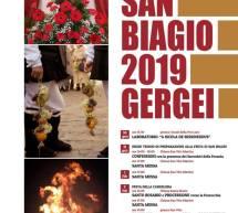 FESTA DI SAN BIAGIO – GERGEI – 30 GENNAIO – 3 FEBBRAIO 2019