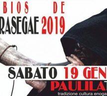 ATOBIOS DE CARRASEGAE – PAULILATINO – SABATO 19 GENNAIO 2019
