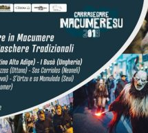 CARRASEGARE MACUMERESU – MACOMER – SABATO 16 FEBBRAIO e 2 MARZO 2019