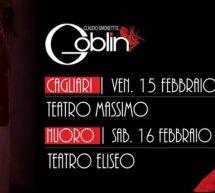 CLAUDIO SIMONETTI'S GLOBIN TOUR – CAGLIARI & NUORO – 15-16 FEBBRAIO 2019