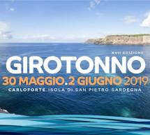 GIROTONNO 2019 – CARLOFORTE – ISOLA DI SAN PIETRO – 30 MAGGIO – 2 GIUGNO 2019