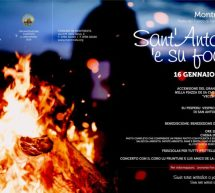 SANT'ANTONI 'E SU FOGU – MONTRESTA – MERCOLEDI 16 GENNAIO 2019