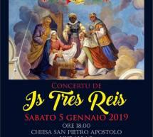 CUNCERTU DE IS TRES REIS – NURALLAO – SABATO 5 GENNAIO 2019