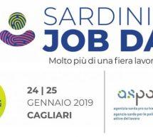 SARDINIAN JOB DAY – FIERA INTERNAZIONALE DELLA SARDEGNA – CAGLIARI – 24-25 GENNAIO 2019