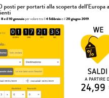 70.000 POSTI PER SCOPRIRE L'EUROPA CON VUELING A PARTIRE DA 24,99 €