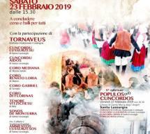 CANTIGOS IN CARRELA – SANTU LUSSURGIU – SABATO 23 FEBBRAIO 2019