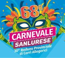 68° CARNEVALE SANLURESE – SANLURI -DOMENICA 10 MARZO 2019