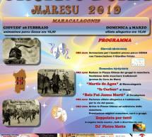 CRANOVALI MARESU – MARACALAGONIS – 28 FEBBRAIO – 3 MARZO 2019