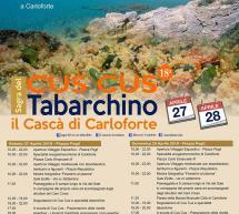 SAGRA DEL CUS CUS TABARCHINO – IL CASCA' DI CARLOFORTE – 27-28 APRILE 2019