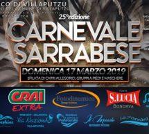 CARNEVALE SARRABESE – VILLAPUTZU – DOMENICA 17 MARZO 2019