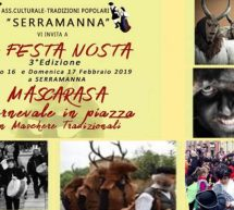 SA FESTA NOSTA – SERRAMANNA – 16-17 FEBBRAIO 2019