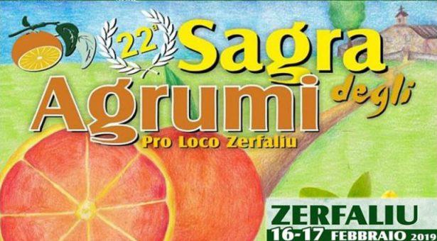22° SAGRA DEGLI AGRUMI – ZERFALIU – 16-17 FEBBRAIO 2019