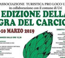 SAGRA DEL CARCIOFO – URI – 9-10 MARZO 2019