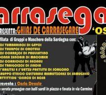 GHIAS DE CARRASEGARE – BOSA – SABATO 23 FEBBRAIO 2019