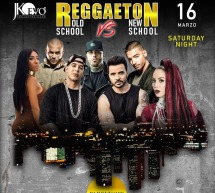 REGGAETON OLD SCHOOL vs NEW SCHOOL – JKO EVO' – CAGLIARI – SABATO 16 MARZO 2019