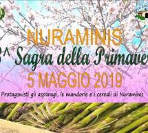 3° SAGRA DI PRIMAVERA – NURAMINIS – DOMENICA 5 MAGGIO 2019
