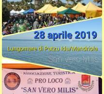 SAPORI E PROFUMI DI MARE – PUTZU IDU/MANDRIOLA – SAN VERO MILIS -DOMENICA 28 APRILE 2019