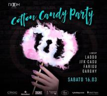 COTTON CANDY PARTY – ROOM CLUB – CAGLIARI – SABATO 16 MARZO 2019