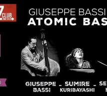 GIUSEPPE BASSI TRIO -ATOMIC BASS – JAZZINO – CAGLIARI – VENERDI 22 MARZO 2019