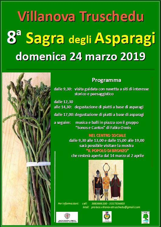 sagra asparagi villanova truschedu