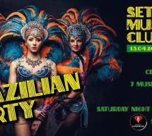 BRAZILIAN PARTY – SETTE VIZI MUSIC CLUB- CAGLIARI – SABATO 13 APRILE 2019