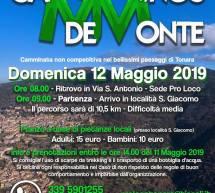 CAMMINOS DE MONTE – TONARA – DOMENICA 12 MAGGIO 2019
