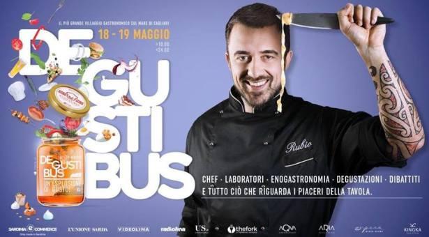DEGUSTIBUS – SARDINIA FOOD FESTIVAL – ARENA BEACH VILLAGE – QUARTU SANT'ELENA- 18-19 MAGGIO 2019