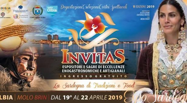 INVITAS 2019 – OLBIA – 19-22 APRILE 2019