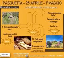 PASQUETTA- 25 APRILE E 1 MAGGIO AL NURAGHE NOLZA