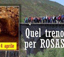 QUEL TRENO PER ROSAS – NARCAO – DOMENICA 14 APRILE 2019