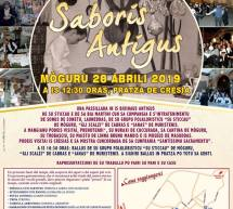 SABORIS ANTIGUS – MOGORO – DOMENICA 28 APRILE 2019