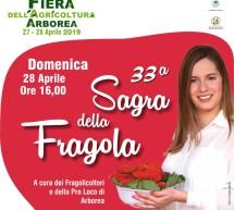 FIERA DELL'AGRICOLTURA & SAGRA DELLA FRAGOLA – ARBOREA – 27-28 APRILE 2019