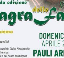 SAGRA DELLE FAVE – PAULI ARBAREI – DOMENICA 28 APRILE 2019