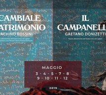 LA CAMBIALE DI MATRIMONIO & IL CAMPANELLO – TEATRO LIRICO – CAGLIARI – 3-12 MAGGIO 2019