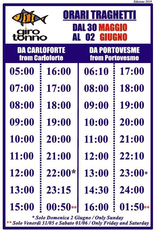 CARLOFORTE PORTOVESME