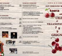 SAGRA DELLE CILIEGIE – VILLANOVATULO – 7-8-9 GIUGNO 2019