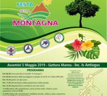 FESTA DELLA MONTAGNA – ASSEMINI – DOMENICA 5 MAGGIO 2019
