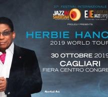HERBIE HANCOCK -FIERA CENTRO CONGRESSI – CAGLIARI – MERCOLEDI 30 OTTOBRE 2019
