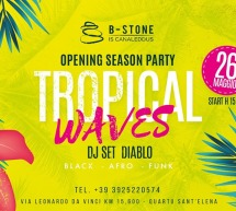 TROPICAL WAVES – BEACH CLUB IS CANALEDDUS – QUARTU SANT'ELENA – DOMENICA 26 MAGGIO 2019
