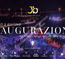 INAUGURAZIONE SATURDAY NIGHT – JINNY BEACH – QUARTU SANT'ELENA – SABATO 1 GIUGNO 2019