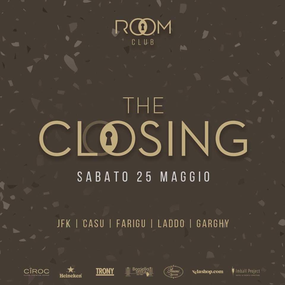 ROOM CLOSING