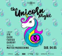 THE UNICORN NIGHT – ROOM CLUB – CAGLIARI – SABATO 4 MAGGIO 2019
