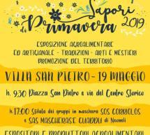 SAPORI DI PRIMAVERA-  VILLA SAN PIETRO – DOMENICA 19 MAGGIO 2019