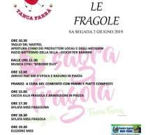 OLTRE LE FRAGOLE – SA SEGADA -ALGHERO- DOMENICA 2 GIUGNO 2019