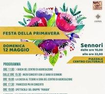 FESTA DELLA PRIMAVERA – SENNORI – DOMENICA 12 MAGGIO 2019