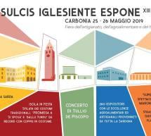 IL SULCIS IGLESIENTE ESPONE – CARBONIA – 25-26 MAGGIO 2019