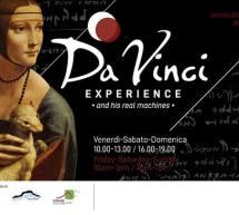 DA VINCI EXPERIENCE – BITTI – 3 MAGGIO – 30 OTTOBRE 2019